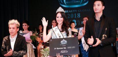 Dương Yến Phi giành danh hiệu Á hậu 2 – Miss Beauty Global 2018