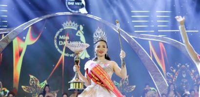 Cô gái Bắc Cạn đăng quang 'Người mẫu nữ hoàng doanh nhân đất Việt 2018'