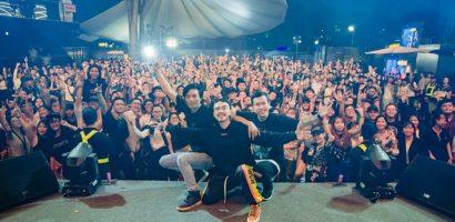 Dàn sao Underground 'bùng cháy' cùng khán giả trẻ Sài Thành
