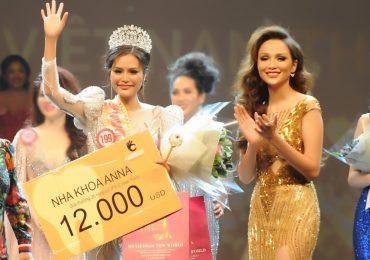 Dy Khả Hân xuất sắc giành chiến thắng cuộc thi 'Hoa hậu Việt Nam Thế giới 2018'