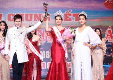 Lý Thiên Nương đăng quang 'Hoa hậu Doanh nhân Việt toàn cầu 2018'