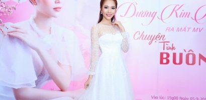 Dương Kim Ánh chi mạnh tay cho MV cổ trang mới