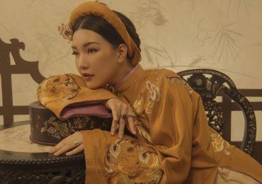 'Nàng thơ xứ Huế' Ngọc Trân 'hô biến' thành các phi tần trong hoàng cung