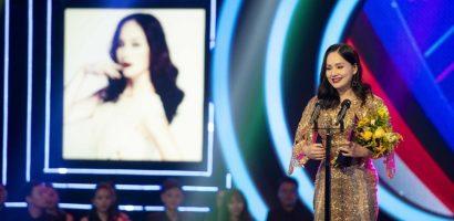 Lan Phương lần đầu nhận giải thưởng lớn từ vai phản diện