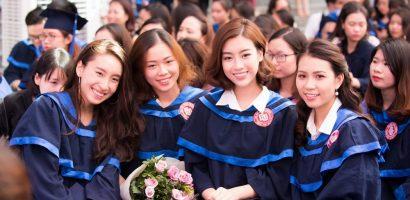 Trước khi kết thúc nhiệm kỳ Hoa hậu, Đỗ Mỹ Linh rạng rỡ nhận bằng tốt nghiệp Đại học