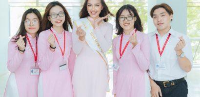 Ngọc Châu rạng rỡ về trường sau khi đăng quang 'Miss Supranational Vietnam 2018'