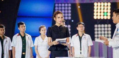 Ngọc Diễm dẫn dắt chương trình về y tế, tiếc lộ từng có mơ ước làm bác sĩ