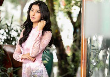'Miss International 2017' Kevin Lilliana đẹp hút hồn khi diện áo dài Việt Nam
