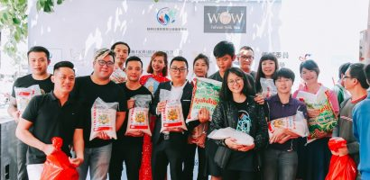 Hội Doanh nhân trẻ Đài Loan tổ chức hoạt động quyên gạo tặng thành phố Bến Tre
