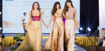 Hoa hậu, Á hậu Áo tự tin trình diễn trang phục truyền thống