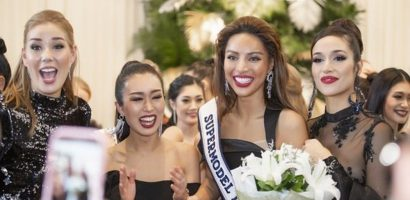 Dương Nguyễn Khả Trang đăng quang 'Siêu mẫu Quốc tế 2018'