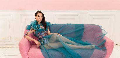 Á khôi Dương Yến Phi thử sức tại Hoa hậu Sắc đẹp Toàn cầu 2018