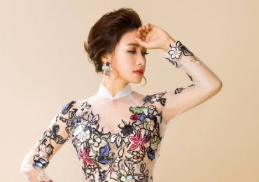 Lê Bê La bất ngờ dịu dàng với tà áo dài Việt Nam