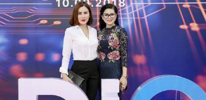 Hoa hậu Phương Lê đọ sắc với cựu diễn viên Thủy Tiên
