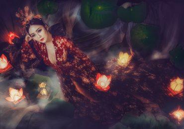 Hóa thành Hằng Nga, Hoa khôi Hải Yến đẹp mỹ miều