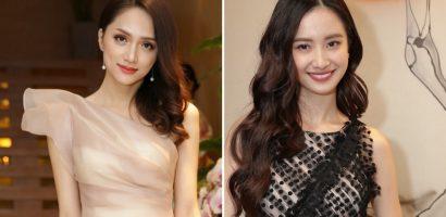 Hương Giang diện đầm trong suốt 'đọ sắc' Jun Vũ tại sự kiện