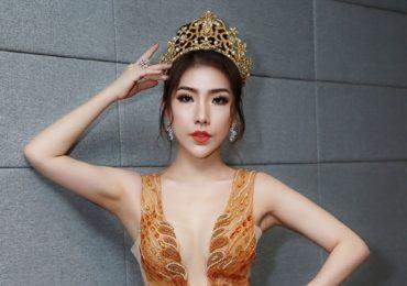 Hoàng Y Nhung tự tin ngồi ghế giám khảo cuộc thi nhan sắc