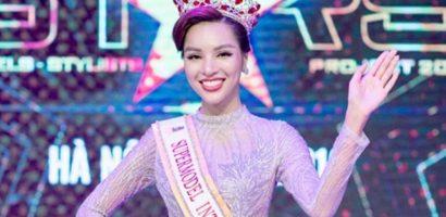 Siêu mẫu chân dài 1,14m Khả Trang được cấp phép dự thi Siêu mẫu Quốc tế 2018