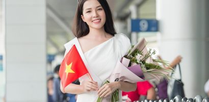Hoa khôi Thúy Vi lên đường chinh chiến tại 'Hoa hậu Châu Á Thái Bình Dương'