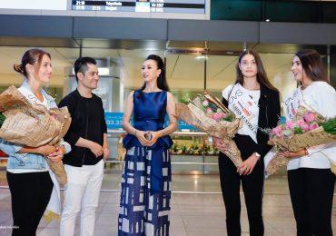 NTK Nhật Dũng rạng rỡ đón tân Hoa hậu, Á hậu Áo 2018 tại Việt Nam