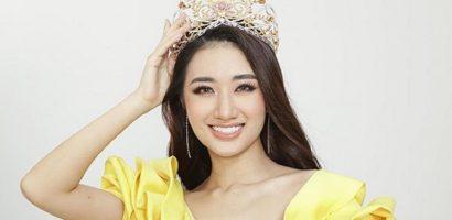 Thu Ngân tự tin ngồi 'ghế nóng' Hoa hậu Bản sắc Việt Toàn cầu 2018