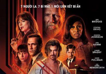 'Bad Times At The El Royale': Câu chuyện nghẹt thở, đẫm máu và kinh hoàng