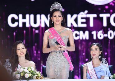 Hoa hậu Tiểu Vy trả lời ấp úng trước báo chí và giới truyền thông