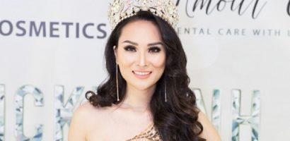 Vicky Đinh mở tiệc ăn mừng chiến thắng 'Hoa hậu Việt Nam Quốc tế 2018'