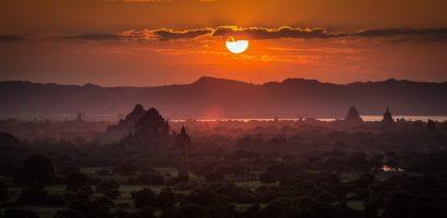 Tháng 10 tươi đẹp ở miền đất Bagan, Myanmar