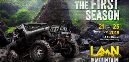 Giải đua xe ô tô địa hình 'La An – Challenge The Mountain' chính thức khởi tranh