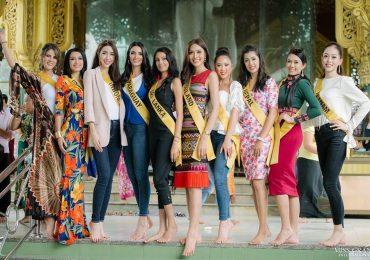 Người đẹp Thái Lan nổi bật ở Hoa hậu Hòa bình 2018