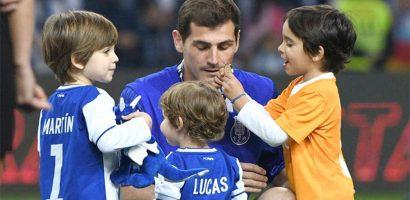 Con trai 4 tuổi của Casillas 'luyện tài' ở lò đào tạo Porto