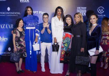 NTK Nhật Dũng đi xem thời trang, chúc mừng Phu nhân Đại sứ Haiti