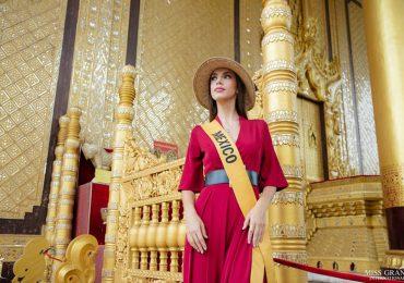 Dàn người đẹp Miss Grand International thăm chùa cao nhất Myanmar