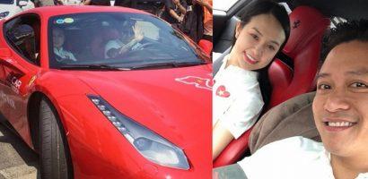 Siêu xe Ferrari vỡ nát, Tuấn Hưng nói: 'Khỏe mạnh sẽ làm lại được'