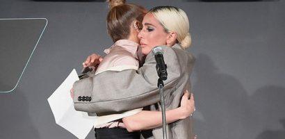 Lady Gaga xúc động khi chia sẻ lý do diện suit rộng thùng thình