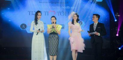Á hậu Dương Yến Phi đấu giá gây quỹ thành công cho đêm nhạc thiện nguyện