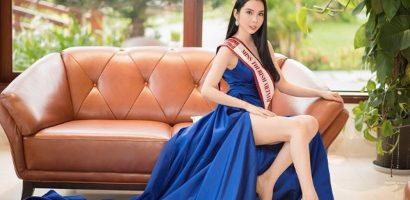Huỳnh Vy đại diện Việt Nam tranh tài tại Miss Tourism Queen Worldwide 2018