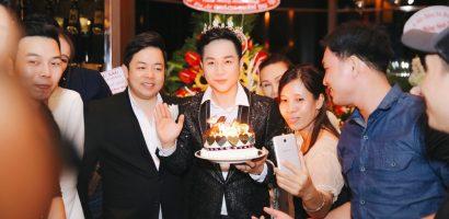 Quách Tuấn Du đội vương miệng kim cương, mừng sinh nhật hoành tráng