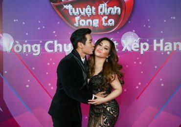 Nguyên Khang hôn Minh Tuyết trong đêm chung kết 'Tuyệt đỉnh song ca'