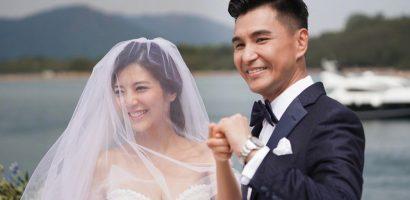 Tài tử TVB tổ chức hôn lễ giữa biển
