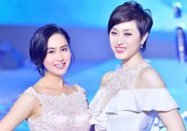 Hoa hậu Hong Kong mừng sinh nhật 'Hoàng Dung' Chu Nhân