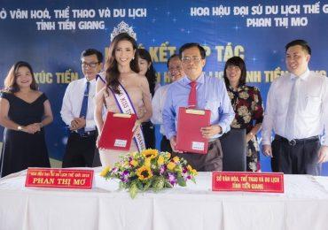 Hoa hậu Phan Thị Mơ thực hiện trọng trách với quê hương sau khi đăng quang