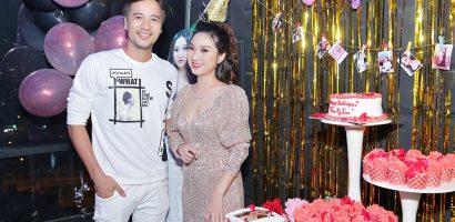 Đoàn Thanh Tài, Phạm Văn Mách chúc mừng sinh nhật Cao Mỹ Kim