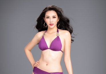 Đại diện Việt Nam diện bikini nóng bỏng trước ngày tham dự Miss International 2018