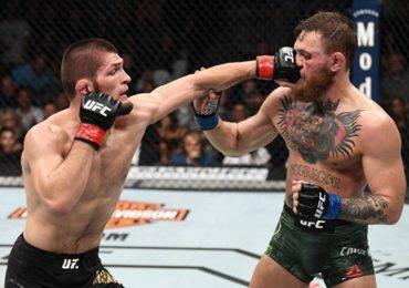 Khabib hạ knock-out McGregor ở hiệp bốn