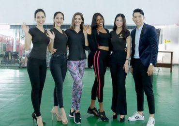 Á hậu Phương Khánh tích cực luyện tập cho Miss Earth 2018