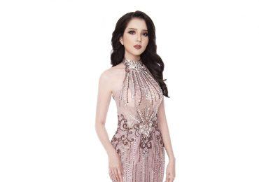 Thúy Vi rạng rỡ trong trang phục dạ hội trước thềm chung kết Miss Asia Pacific International