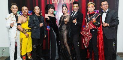 Danh hài Thúy Nga biến thành 'nữ hoàng bóng đêm' trên ghế giám khảo
