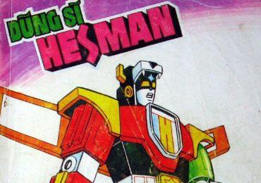Những nhân vật được yêu thích trong 'Dũng sĩ Hesman'